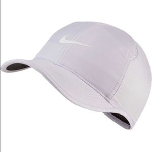 Nike AeroBill Featherlight Tennis Hat - Purple